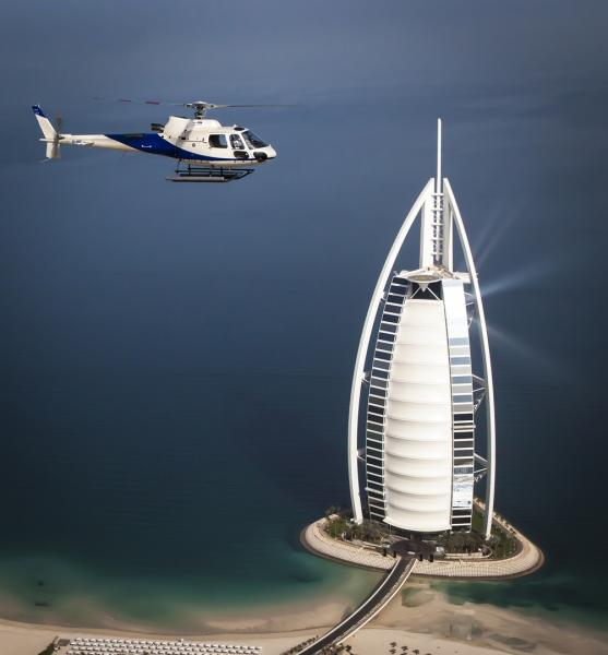 رحلات هليكوبتر في دبي