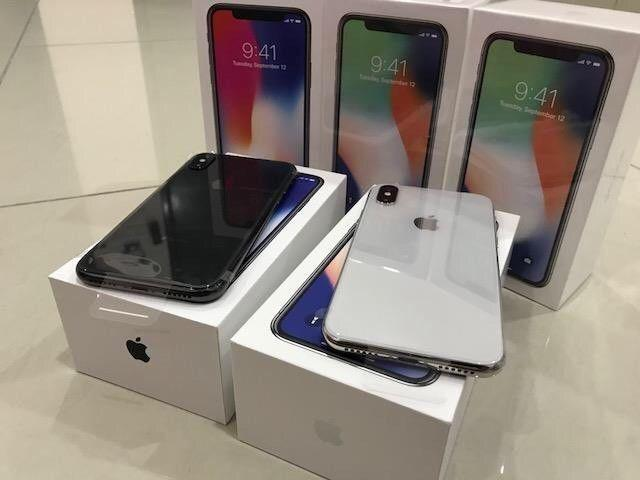 Apple iPhone X 256GB and Samsung Galaxy S9 / 9Plus Available.