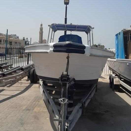 للبيع  قارب الكبيسي ٣٩ قدم + عربانه ٤٠