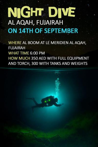 البوم للغطس Alboom Diving  لتنظيم رحلات غوص في دبي